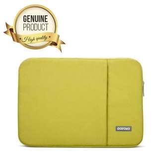"""15.6"""" inch POFOKO Oscar Series Laptop Sleeve Bag Case - Green"""