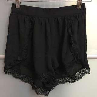 Factorie Chiffon Lace Shorts