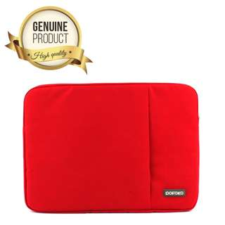 "15.6"" inch POFOKO Oscar Series Laptop Sleeve Bag Case - Red"