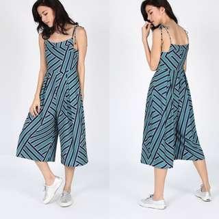 Love Bonito Madieke Printed mini jumpsuit / romper size XS
