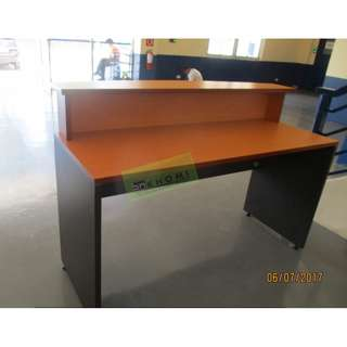 CUSTOMIZE RECEPTION COUNTER - TWO TONE--KHOMI