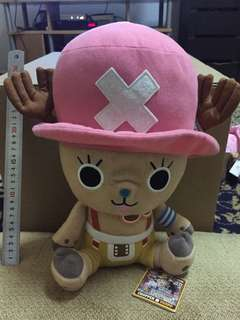 Chopper x Usopp One Piece Rare Vintage Toys with Tag