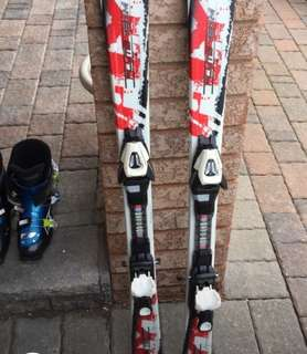 ski set good condition