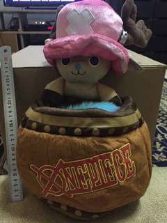 Chopper x One Piece Barrel Rare Vintage Toys with Tag