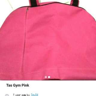 Tas gym warna pink