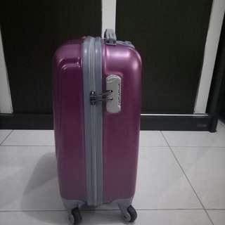 koper/luggage polo 360• - 18 inch dark purple