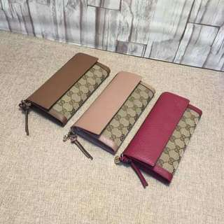 GUCCI FOLD LONG WALLET