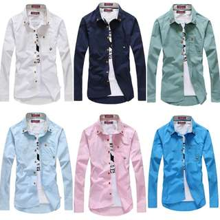 Fresh Large Size All Match Cotton Shirt
