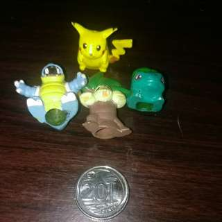 Free postage 4 pcs pokemon pencil tip holder