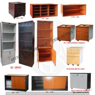 Wooden Filing Cabinet_Office Furniture **