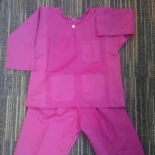 Baju Melayu (Pink)