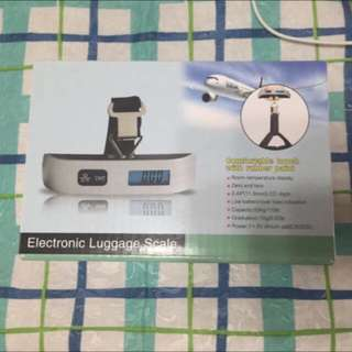 Portable Electronic Luggage Weighing Balance Scale