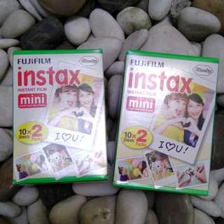 Instax Mini Film Twin Pack 20pcs Fujifilm