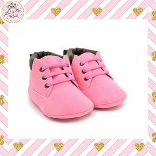 ⏰Limited Time Offer! Pink Baby Boots