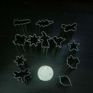1 for $1.5 dollhouse miniature cookie cutter