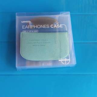 Earphone case miniso