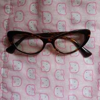 Cateye glasses eyeglasses frame