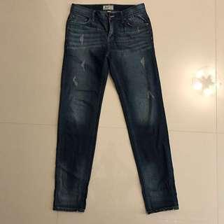 🚚 Roots 牛仔褲 w30