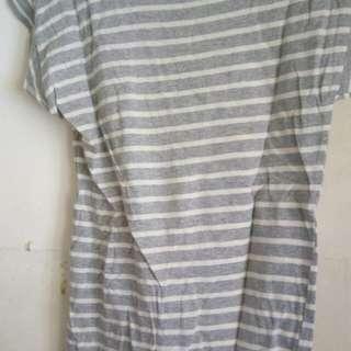 Stripe gray tshirt