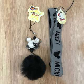 Mickey Mouse Phone Straps