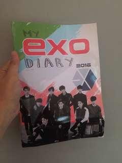 EXO DIARY BOOK