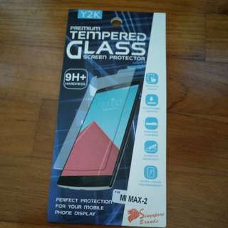 Premium MiMax2 Tempered glass screen protector