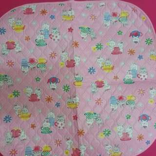 mollie&mommy baby girl's plastic diaper changing pad