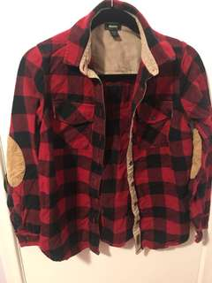 Roots women's flannel