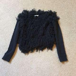 Lilya shaggy jumper - xs