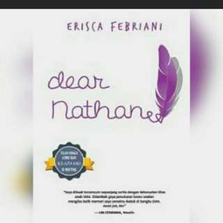Ebook Dear Nathan