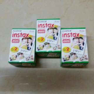 Fujifilm Instax Mini Film Twin Pack 20 pcs