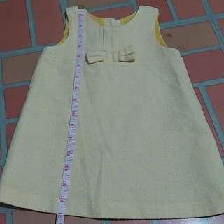Benetton Baby Dress Yellow