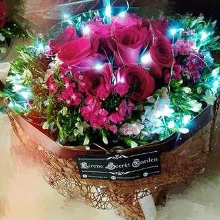 Flower bouquet/hand bouquet/birthday bouquet/anniversary bouquet