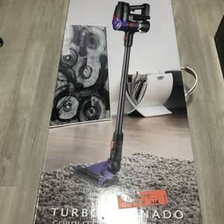 Cordless Vacuum Cleaner Turbo Tornado ( Pursonic )