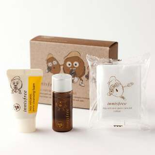Innisfree - Jeju Volcanic Pore Care Kit