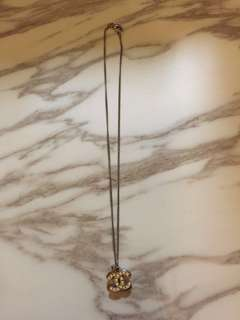 Chanel double C necklace