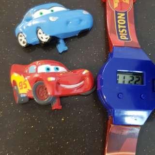 Cars Lighting McQueen watch