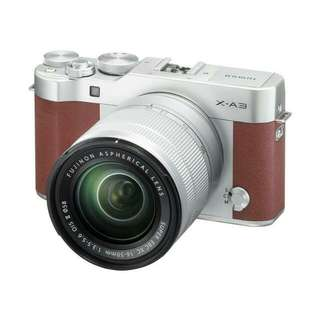 Bisa Kredit Fujifilm X-A3 Kamera Mirrorless with 16-50mm Lens Tanpa Kartu Kredit Proses Cepat