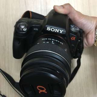Dslr sony alpha 55 (used)