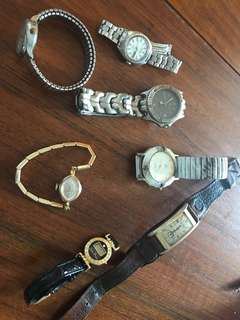 Vintage watch collection bundle