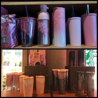 Starbucks Spring Season Collection Tumbler, Cold Cup, Mug