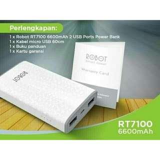 Powerbank ROBOT-VIVAN 6600 Mah