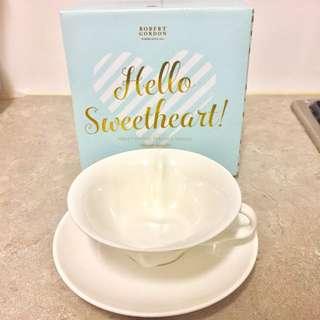Sweet Heart Tea Cups