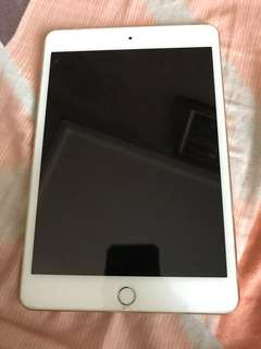 Ipad Mini 4 128 GB wifi + cell gold