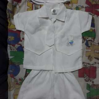 Baptismal Dress Set