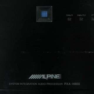 Alpine sound processor Pxa H800
