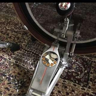 Pearl Drum Pedal P3000D single c/w bag