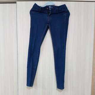 Pull & Bear basic collection low rise Skinny Jeans