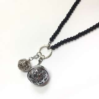 Essential Oils Aromatherapy Diffuser Locket Necklace 香薰精油球長頸鏈