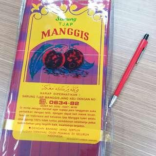 sarung cap manggis